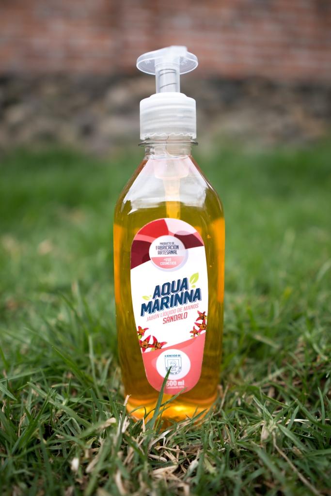 Jabón líquido 500ml Sándalo