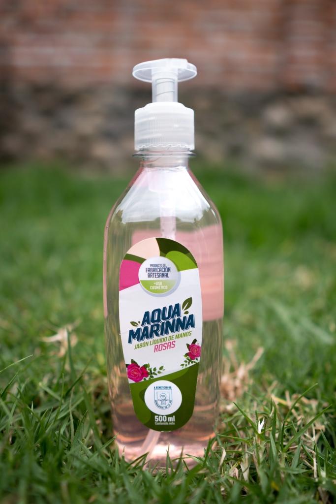 Jabón líquido 500ml Rosas