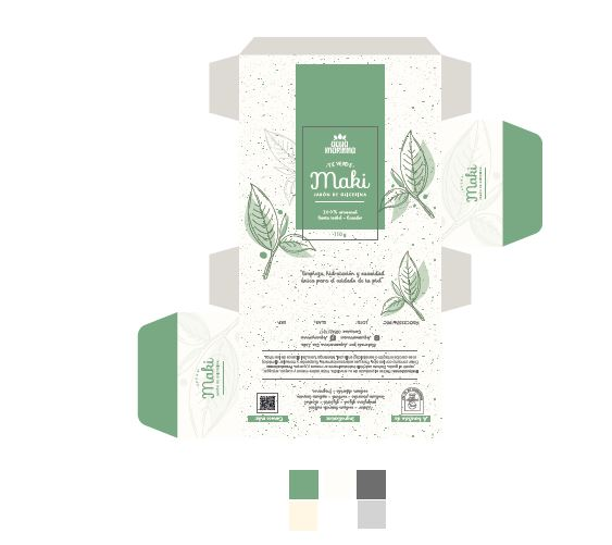 Jabón artesanal Maki Té verde