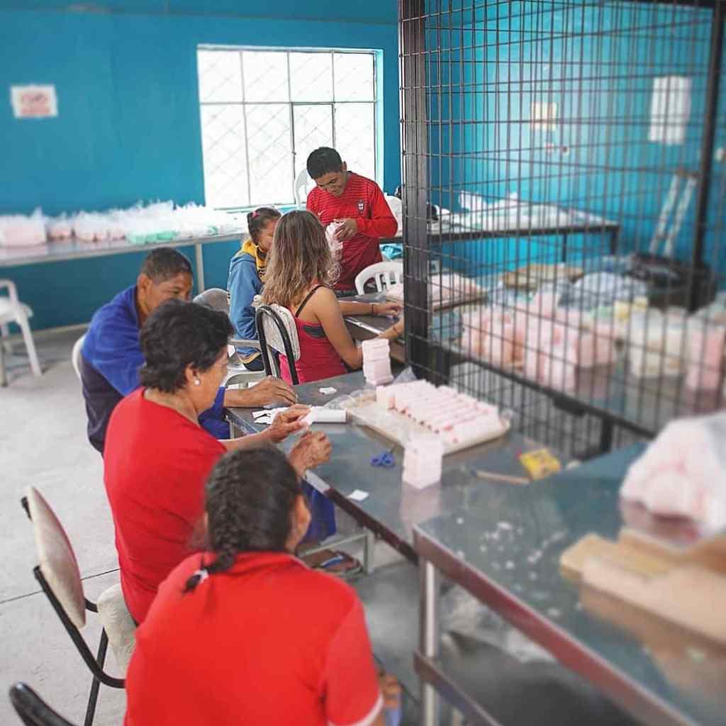 Inclusión laboral en la fábrica de jabón artesanal de Aquamarinna