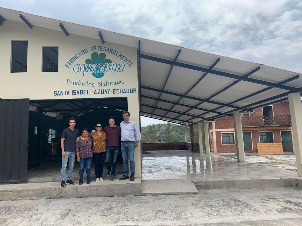 Inauguración fábrica de Jabón Artesanal de Aquamarinna