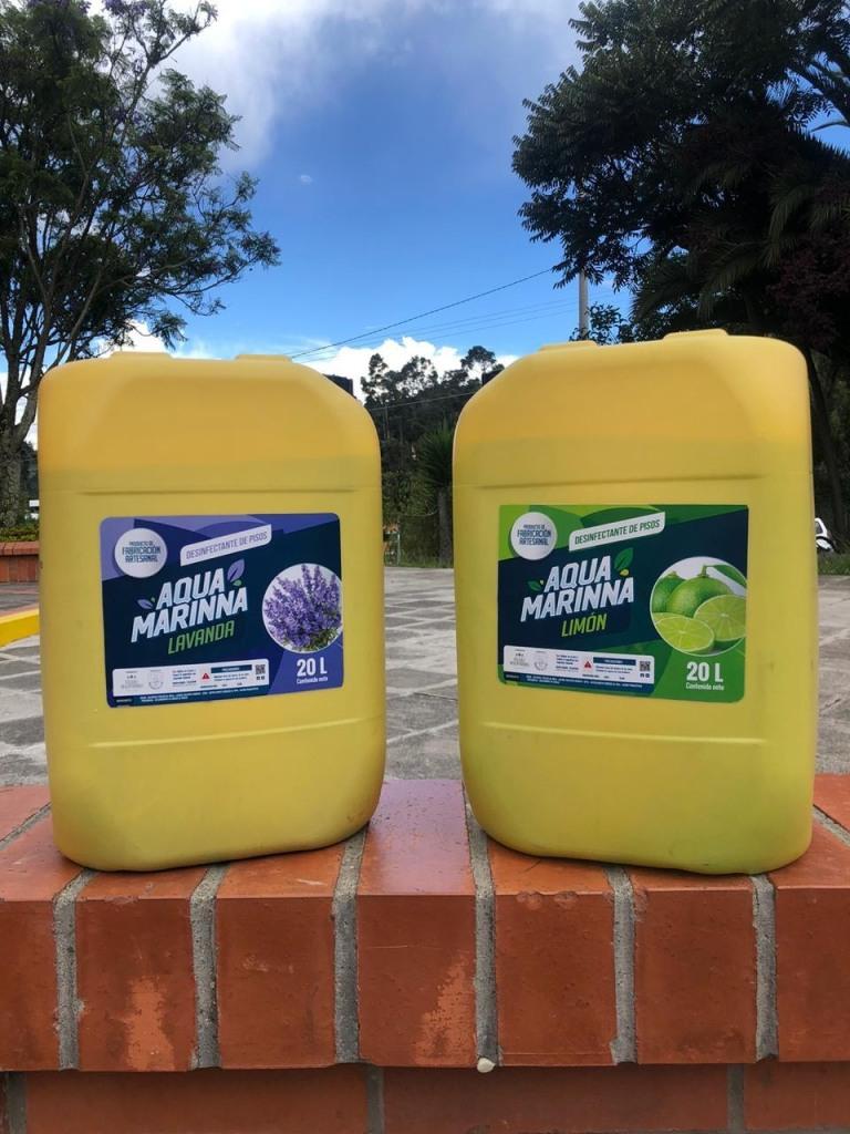 Desinfectante de piso Caneca Lavanda. Limón, Chicle y Mandarina